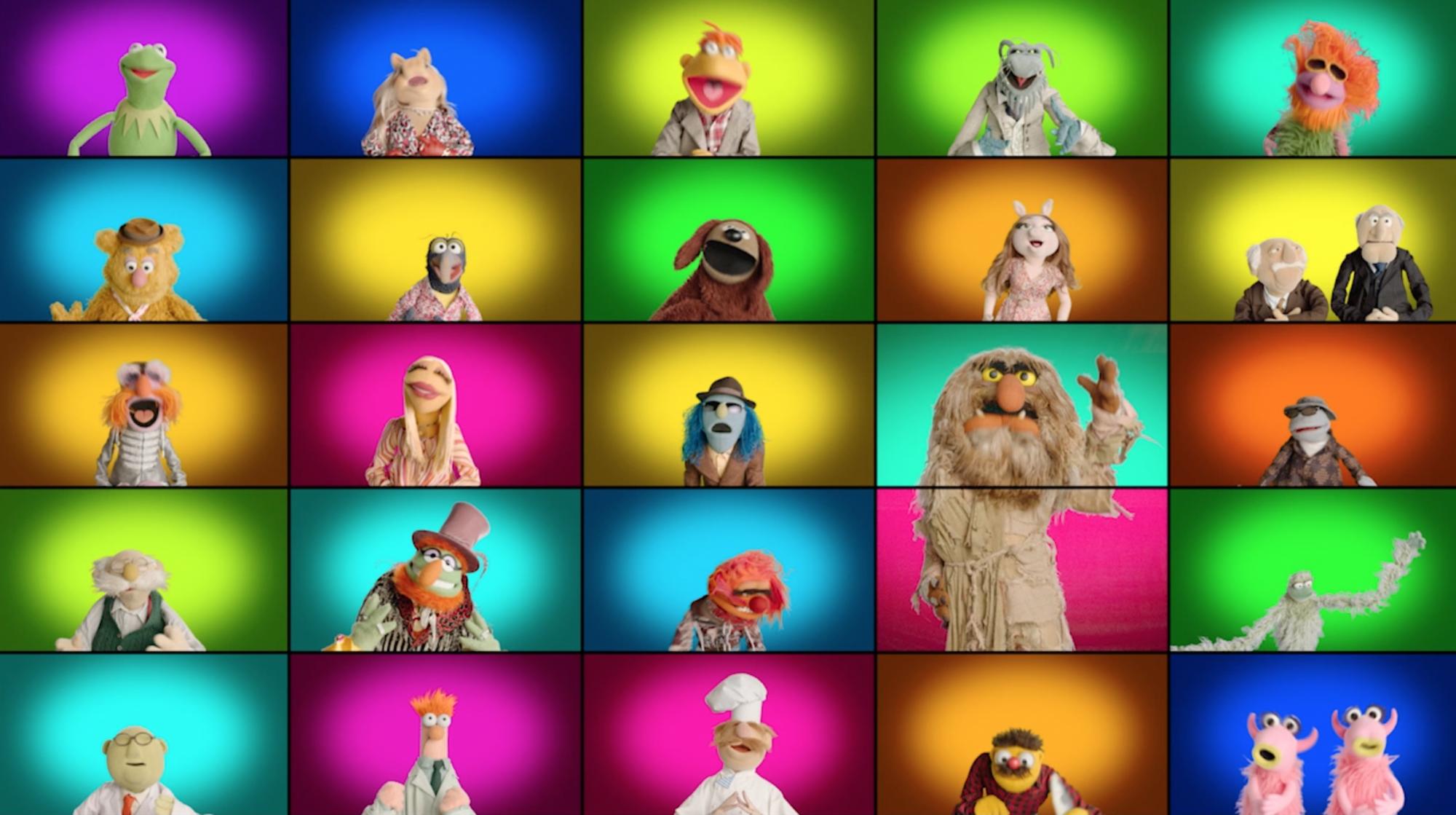 Muppets singing